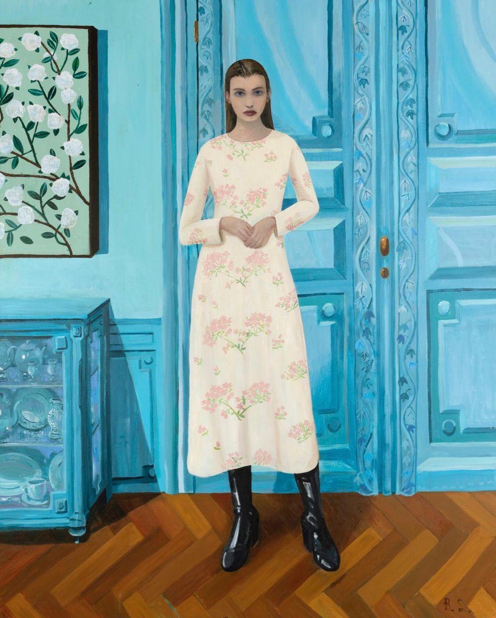 'Girl in the Blue Room' Ben Sledsens, 2020 @bensledsens 💙